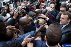 Макрон и его сторонники